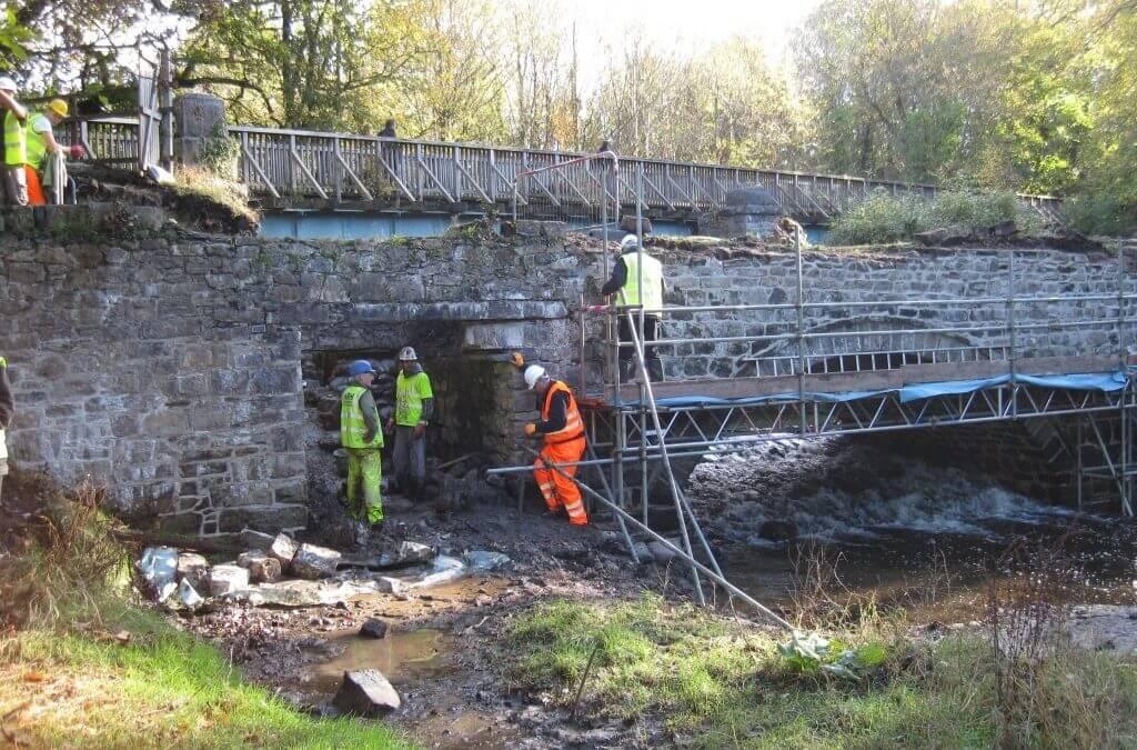 Cegin Viaduct restoration, Porth Penrhyn, Bangor