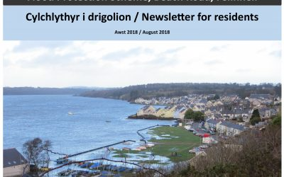 Beach Road, Felinheli – Flood Protection Scheme, YGC Newsletter