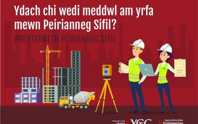 CYFLEOEDD PRENTISIAETH YGC