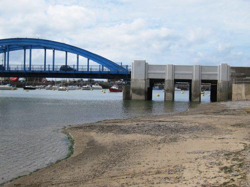 A525 Foryd Bridge Rhyl